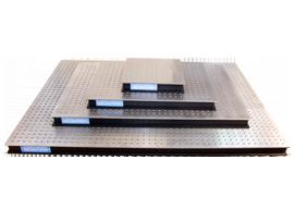 optisches Breadboard Aluminium